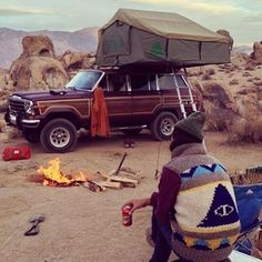 Time to go camping!