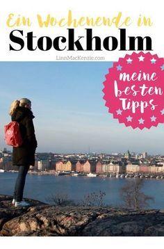 Meine besten Tipps für ein Wochenende in Stockholm! #schweden #wochenendtrip #städtereise