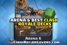 Reaching Arena 6 is a tough call for new players who are trying hard to push their trophies after Arena 4 in Clash Royale. This is the time when every player tries to sharpen their skills, and hence you too need to level-up your cards to attain more wins and surpass Arena 6. Though it may be tough to win in Arena 6 in beginning you will definitely master your skills with time.