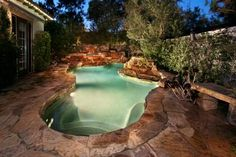 HGTV Gardens features a gallery of luxurious plunge pools.