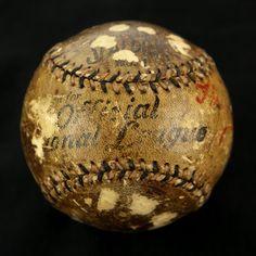 1909 World Series Game Used Baseball 10-8-1909
