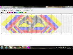 esquema - colombia - YouTube Crochet, Videos, Youtube, Animals, Jewelry, Bow Braid, Molde, Amor, Loom Bracelets