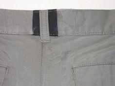 modif ceinture pantalon (1) Comment élargir une ceinture de pantalon, pas à pas.