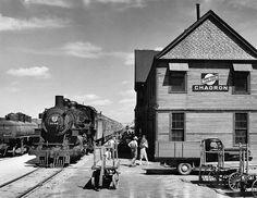Train time at Chadron, Nebr.   Classic Trains Magazine