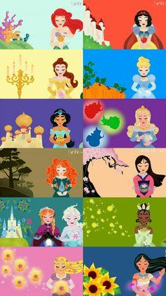 Disney Princess Facts, Disney Princess Cartoons, Disney Fun Facts, Princess Art, Cute Disney, Disney And Dreamworks, Disney Artwork, Disney Fan Art, Disney Drawings