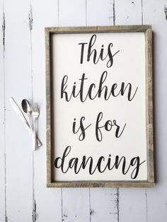 Oh oh OH!!! I want this! How perfect:). There's lots of dancing in the kitchen @ Albery <3