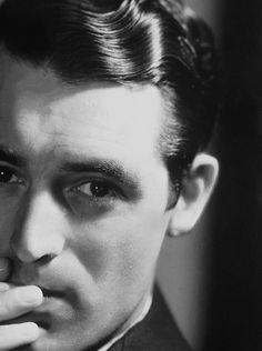 Portrait of the English (later American) actor Cary Grant, United States, 1937, photograph by John Engstead.
