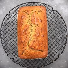Big, beautiful banana bread, fresh out of the oven: new recipe #SimplyNigella
