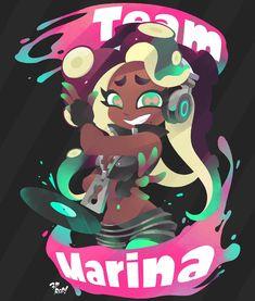 Marina Splatoon, Splatoon 2 Art, Splatoon Memes, Pearl And Marina, Callie And Marie, Nintendo, Pokemon, Graffiti, Video Games Girls