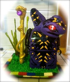 Pythor from Lego Ninjago By gonewild on CakeCentral.com