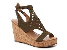 Franco Sarto Cameron Wedge Sandal
