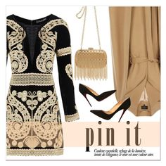 """""""Pin it"""" by janee-oss ❤ liked on Polyvore featuring For Love & Lemons, Coast, Inge Christopher and Christian Louboutin"""