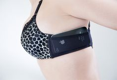 The JoeyBra is a bra with a side pocket so you can store credit cards or your phone - neat!