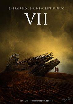Star Wars Episode VII -fan poster-