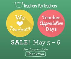 It's Teacher Appreciation Sale on May 5-6, 2015. Save up to 28% on SAT-10 practice tests for K-2. Click the following link to shop. https://www.teacherspayteachers.com/Store/K-2-Sat-Practice-Tests-A/Category/K-2-SAT-Practice-Tests