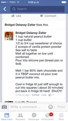S: peanut butter cookie bar recipe