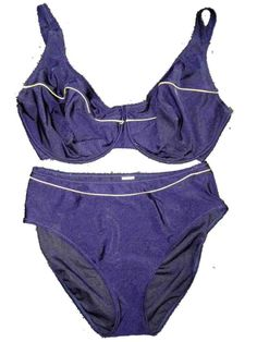 e6e490b5be New Anita Navy Blue Underwired Bikini Set UK 18 for H cups Swimwear No  Padding #