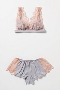 Enjoy the kiss - lace & silk set