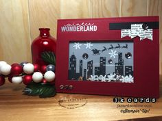 Stampin' Up!, Paper Craft Crew 120, Calling All Heroes Photopolymer, Holiday Home Photopolymer, Project Life December Wonder Photopolymer, Silver Stampin' Emboss Powder, Typeset Specialty DSP, Banner Punch, Frosted Sequins