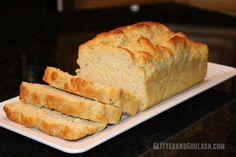 Quick Beer Bread - Glitter and Goulash
