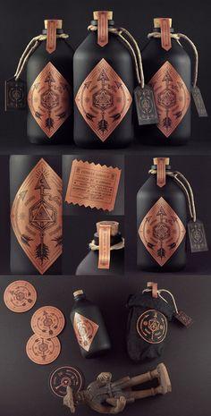 Cachaca Estudio Caboclo #packaging #design