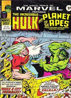Marvel UK, Mighty World of Marvel #234, Hulk vs Doc Samson