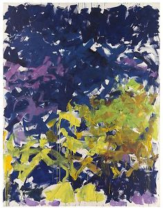 """pinkpagodastudio: Joan Mitchell--""""My Paintings Have to do with Feelings"""""""