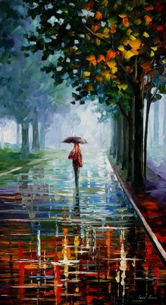MORNING FULL OF LIFE AFREMOV by Leonidafremov.deviantart.com on @deviantART