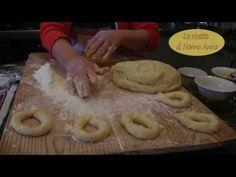 Le zeppole fritte (graffe) napoletane dalle ricette di Nonna Anna sempli...