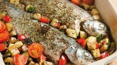 Forel met groentjes in de oven | VTM Koken