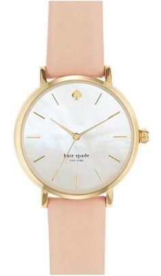 sleek beige watch