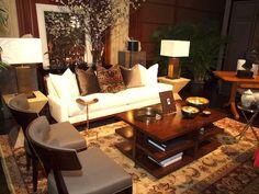Shaar Hashomayim living room setting presented by Celadon