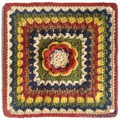 Vanna's Choice Crochet Along Squares - mellie blossom