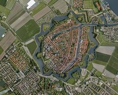 Medieval Dutch Cities With Walls - Brielle