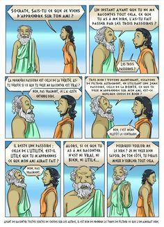 Les trois passoires selon Socrate - Du coté de chez PLK