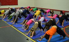 Yoga Story ! We're going on a Bear Hunt Yoga Story - complete with Routine!