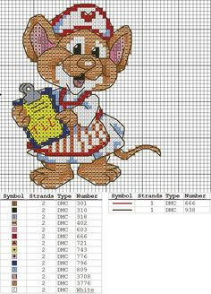 sandylandya@outlook.es  Gráficos y Trabajos Punto de Cruz | Aprender manualidades es facilisimo.com
