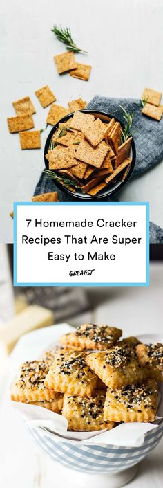 Time to get crackin' in the kitchen. #greatist https://greatist.com/eat/homemade-crackers