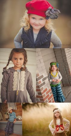Cute Poses & Clothes! By Munchkins and Mohawks for Persnickety Fall 2012