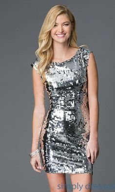 1f0c4d2fd4524 Cool Homecoming Outfits, Prom Dresses 2015, Short Dresses, Sequin Shorts, Sequin  Dress