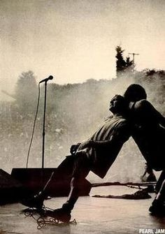 I had a supersized poster like this in my college dorm room.  Old school Pearl Jam.  Love it!