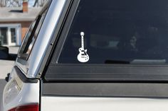Cool guitar decal Electric Guitar Sticker Vinyl by StatusDecalsUSA