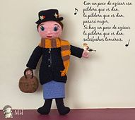 Ravelry: Mary Poppins amigurumi pattern by Ana Artedetei