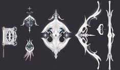 A concept art archive of NCSoft's fantasy MMORPG, Aion Online. Made primarily cause the assholes. Anime Weapons, Fantasy Weapons, Armor Games, Self Defense Weapons, Weapon Concept Art, Art Archive, Game Design, Game Art, Art Lessons