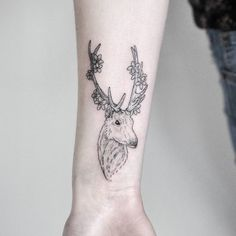 By Harry @harry.plane - Thanks @olivia_carrieee Harry Harry, Deer Tattoo, Body Mods, Plane, Piercings, Tattoo Ideas, Ink, Tattoos, Stag Tattoo Design