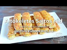 A tökéletes Sajtos rúd recept | Kabóca a konyhában
