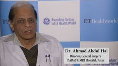 Check out the Interview of Dr. Ahmad Abdul Hai, Director, General Surgery, PARAS HMRI Hospital, Patna with ETHealthworld in which he talks about healthcare revolution.