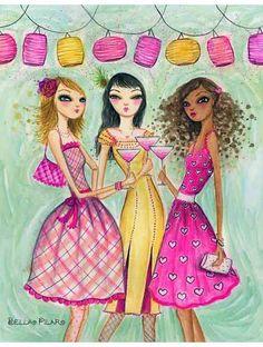 Girlfriends Cheers - Bella Pilar