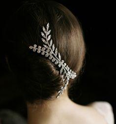 Jennifer Behr :: Hair Accessories - Iris Crystal Comb