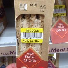 When Tesco put a chicken sandwich on sale. | 23 Epically Wrong Retail Fails